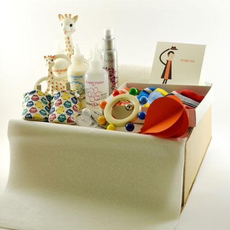 paquet c lin cadeaux de naissance blogsevent. Black Bedroom Furniture Sets. Home Design Ideas