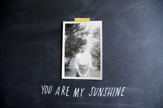 Sticker You are My Sunshine