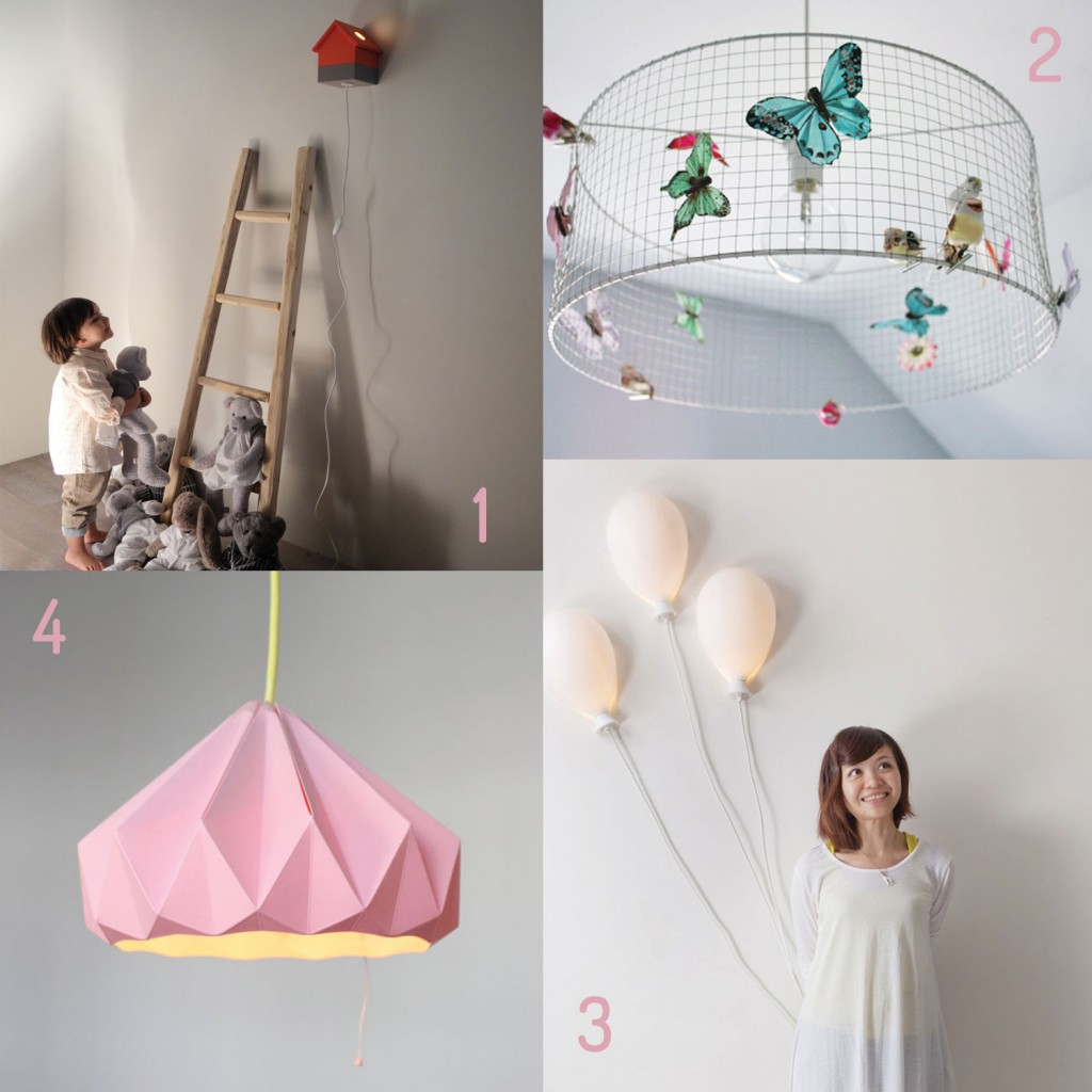 Eclairages pour chambre d'enfant