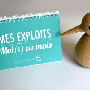 Mes Exploits Moi(s) par Moi - Carnet des étapes de bébé