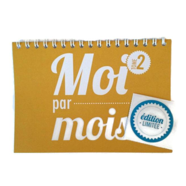 calendrier bébé moi par mois Tome 2 Moutarde