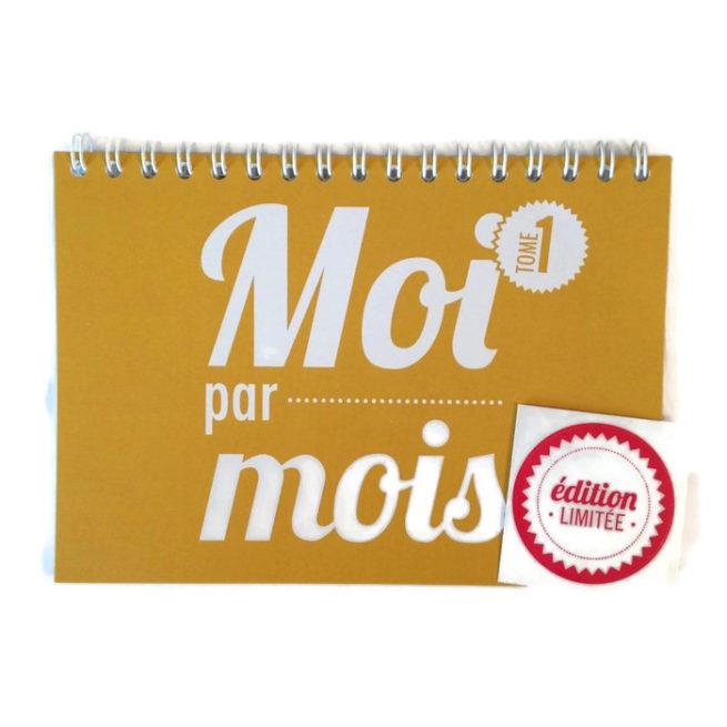 calendrier bébé moi par mois Moutarde