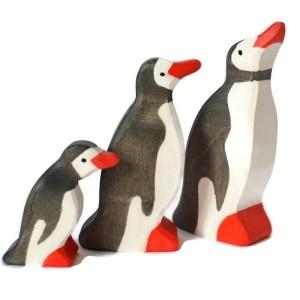 Animaux en bois Pingouins