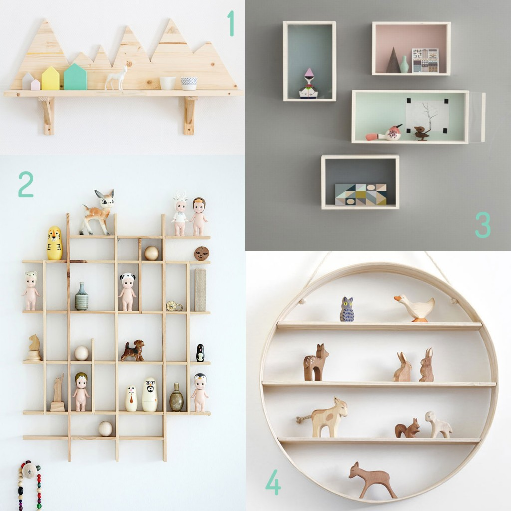 Blog paquet for Etageres chambre enfant