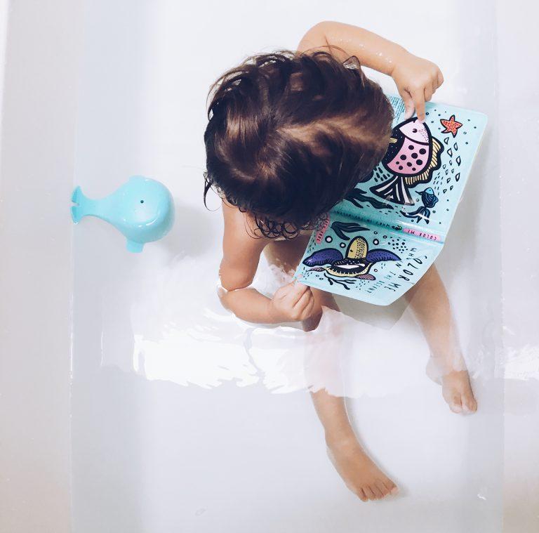 Livre de bain à colorier Océan