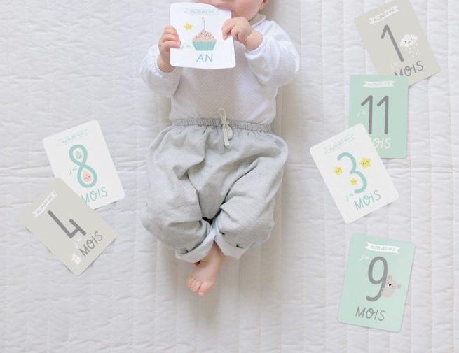 Cartes étapes bébé Zü|Cartes étapes bébé Zü|Cartes étapes bébé Zü
