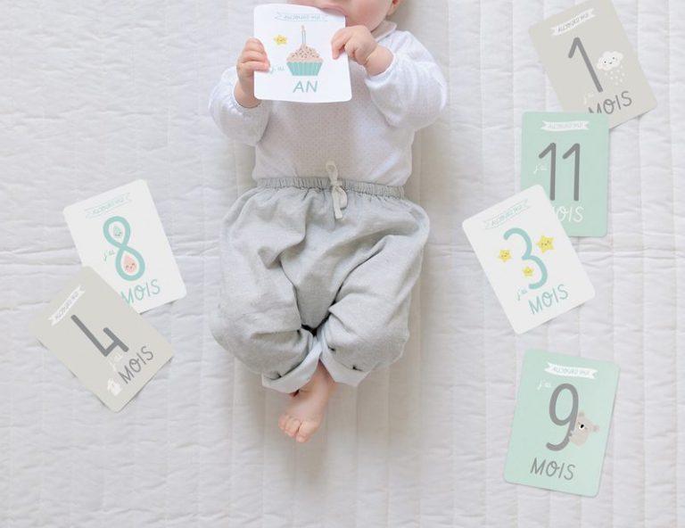 Cartes étapes bébé Zü Cartes étapes bébé Zü Cartes étapes bébé Zü