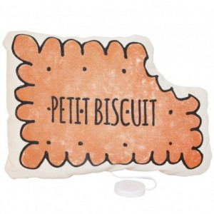 Coussin Musical Petit Biscuit