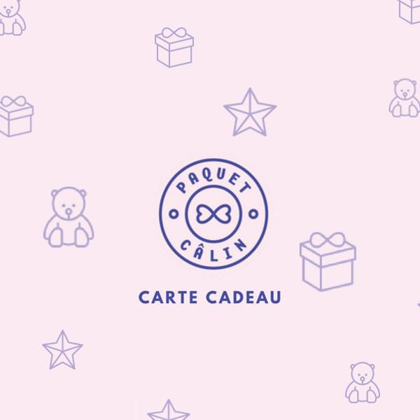 Carte Cadeau Paquet Câlin Paquet Calin Com