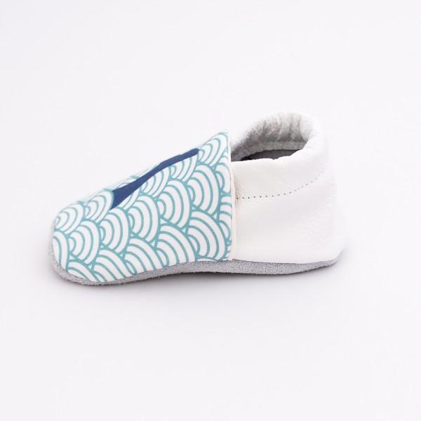 chaussons bébé baleine 6