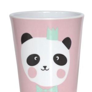 tasse panda rose