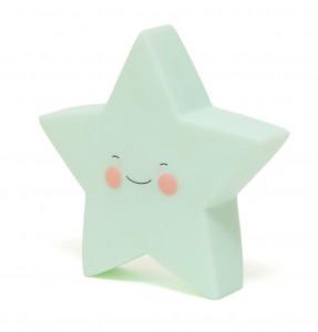 Veilleuse étoile Menthe