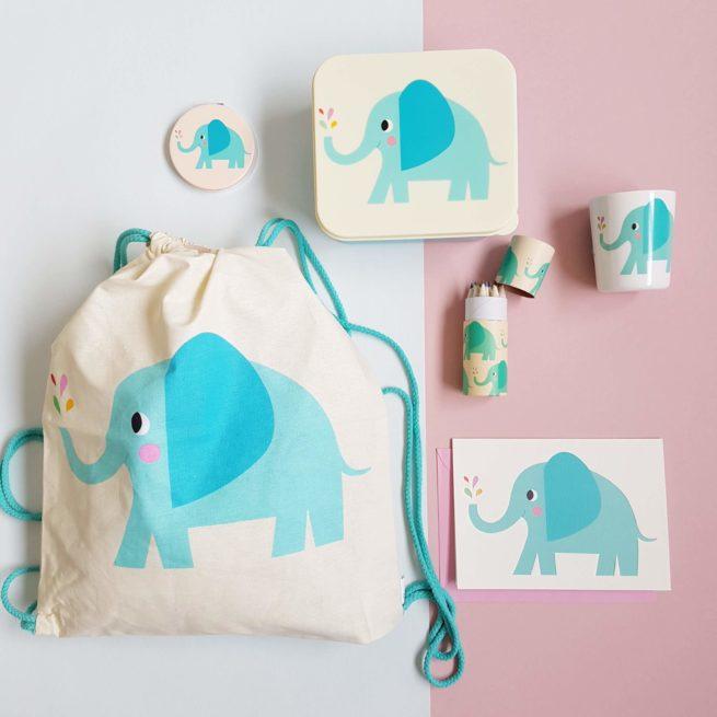 Coffret Cadeau Enfant Eléphant