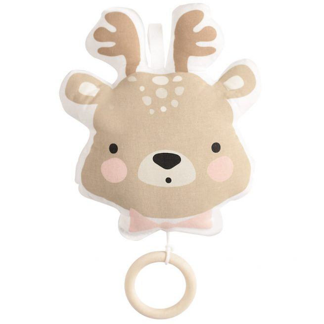 Coussin musical Cerf