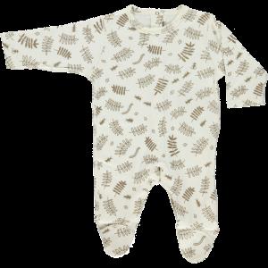 Pyjama molleton feuilles