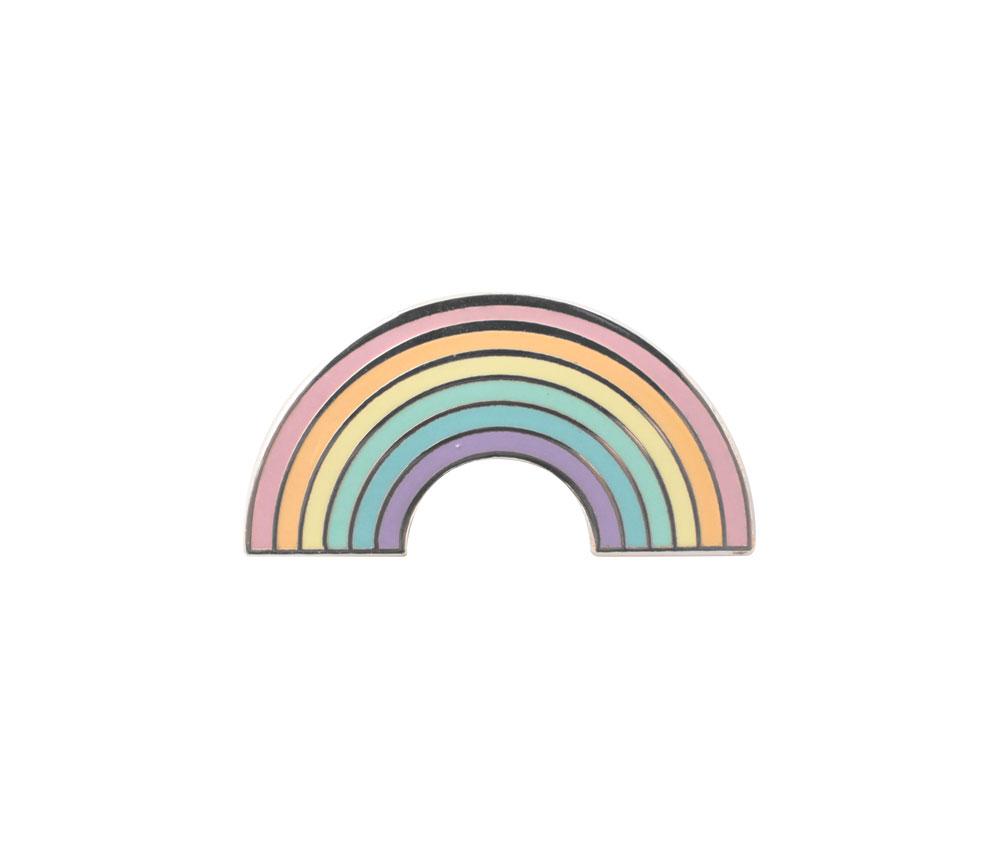 Pin's arc-en-ciel