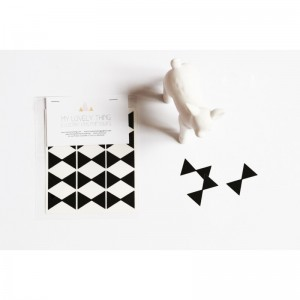 Stickers Noeuds Papillons noir