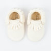 Mocassins bébé blancs