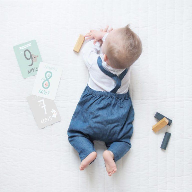 Cartes étapes bébé Zü